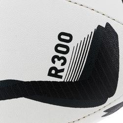 Rugbybal R300 maat 5 zwart