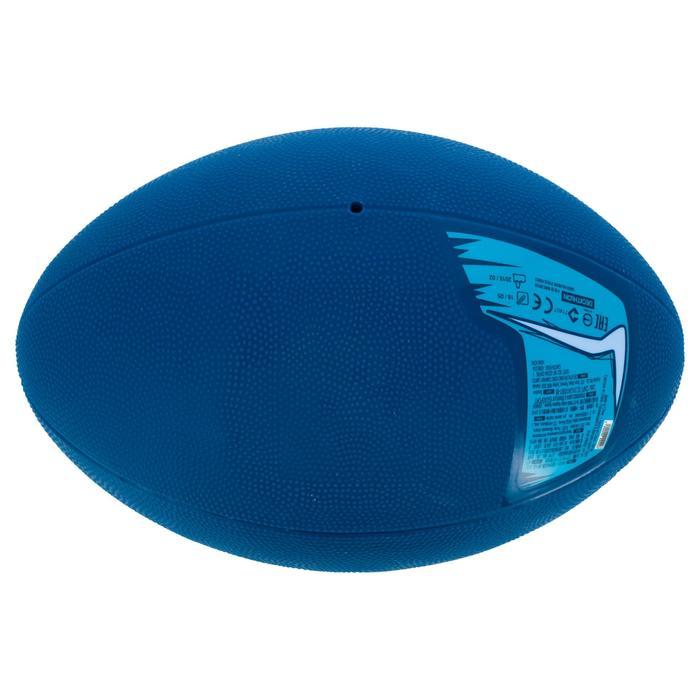 Ballon Rugby Resist Bleu T3