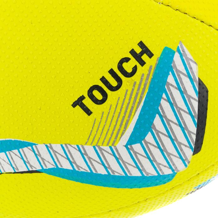 Bal voor touch rugby R500 geel