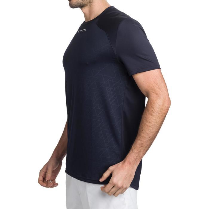 Tee shirt entraînement rugby adulte Perf Tee bleu