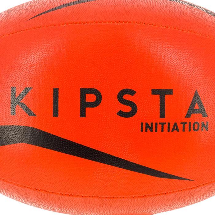 Ballon rugby R100 taille 4 orange - 1311189