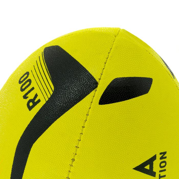 Ballon rugby R100 taille 3 jaune - 1311243