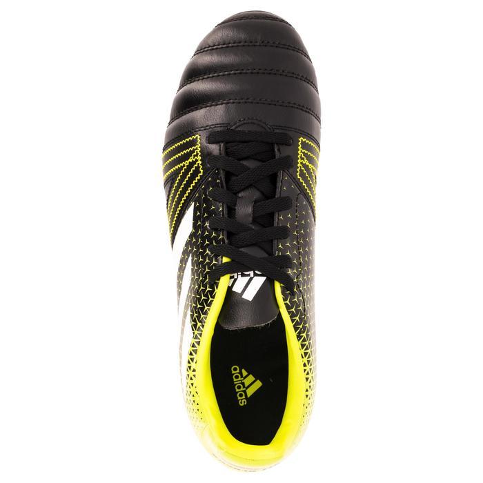Chaussure de rugby enfant 6 crampons Kakari SG noir/jaune - 1311253