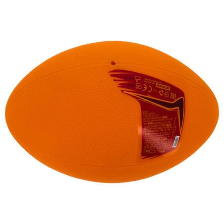 Midi R100 Recreational PVC Rugby Ball - Orange