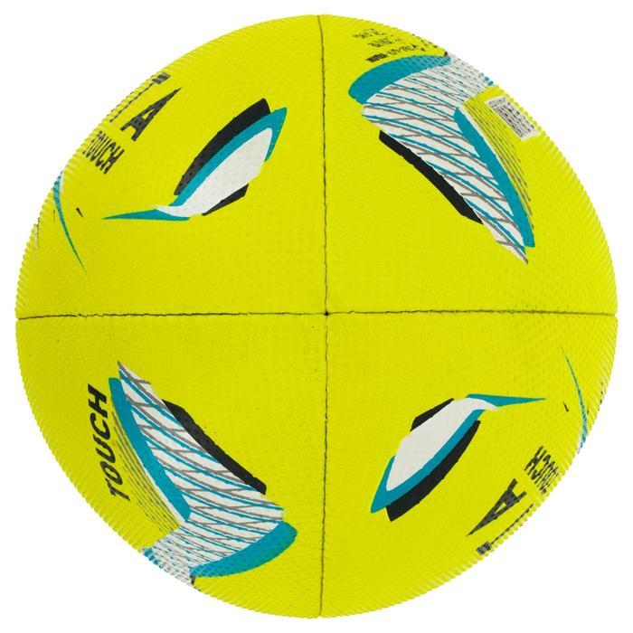 Balón de Touch Rugby Offload R500 amarillo