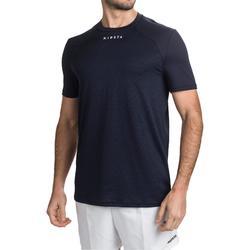 Trainingshirt voor rugby Perf Tee R500 blauw