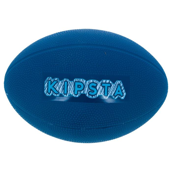 Mini Ballon Rugby Resist Bleu