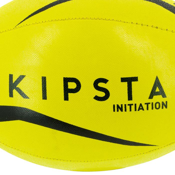 Ballon rugby R100 taille 3 jaune - 1311266