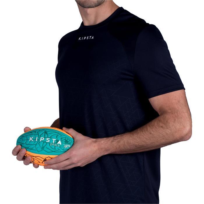 Beach-Rugbyball 100 Tiki Midi blau