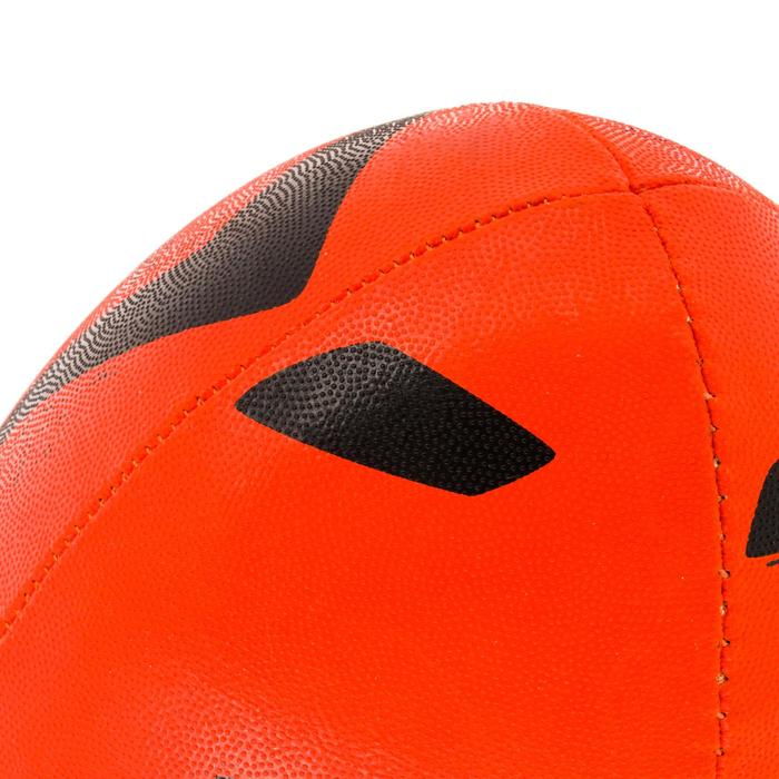 Ballon rugby R100 taille 4 orange - 1311278