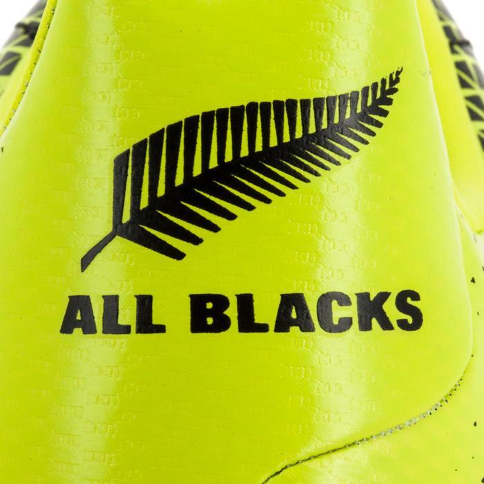 Rugbyschuhe Kakari SG 6 Stollen Kinder schwarz/gelb