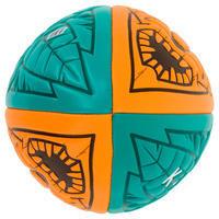 Beach Rugby Ball R100 Midi - Orange/Green