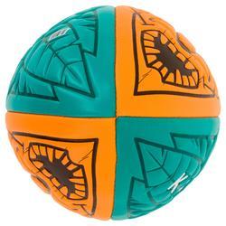 Balón de Rugby Playa Offload 100 Tiki midi naranja y verde