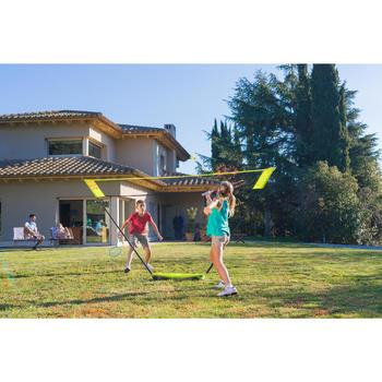 輕鬆組裝羽球拍網組3 m-黃色