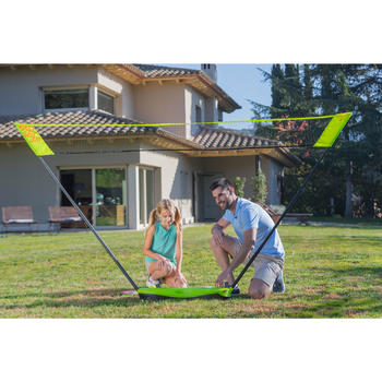 Filet De Badminton Easy Net 3M - Jaune