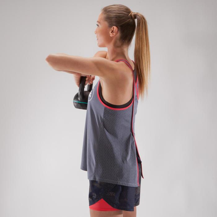 500 Women's Cross Training Tank Top - Grey
