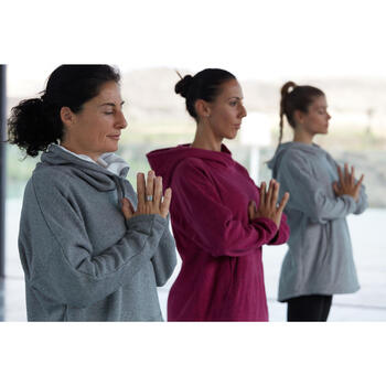 Sweat polaire yoga COCOON femme - 1311576