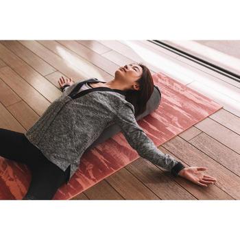 Bolster - coussin de yoga gris , coton issu de l'agriculture biologique. - 1311598