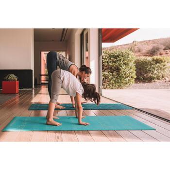 Yogamat voor kinderen 5 mm blauwe beer