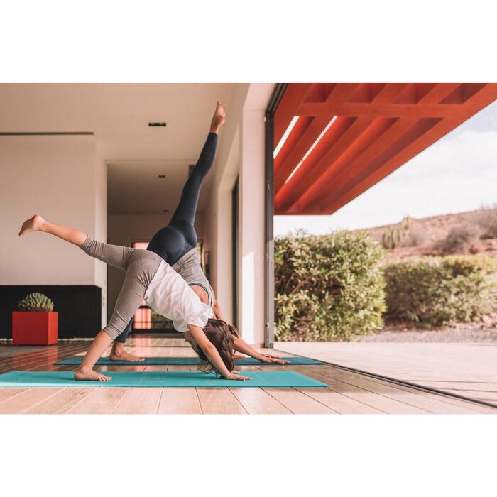 Tapis yoga enfant 5 mm ours bleu