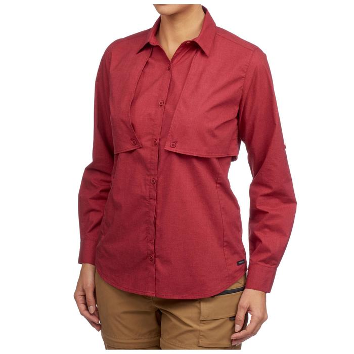 Chemise manches longues TRAVEL 500 MODUL femme - 1311729