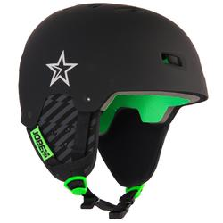 Helm Base Teal zwart