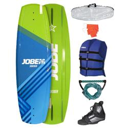Wakeboard set Jobe Shocker 141 cm (board/bindingen/boardbag/vest/vlag/handle)