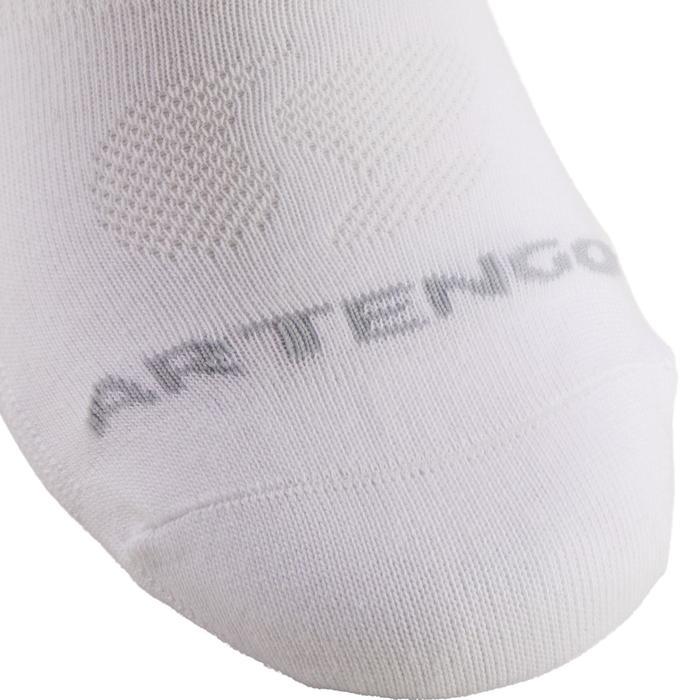 Hoge sportsokken voor volwassenen Artengo RS 160, wit, set van 3 paar