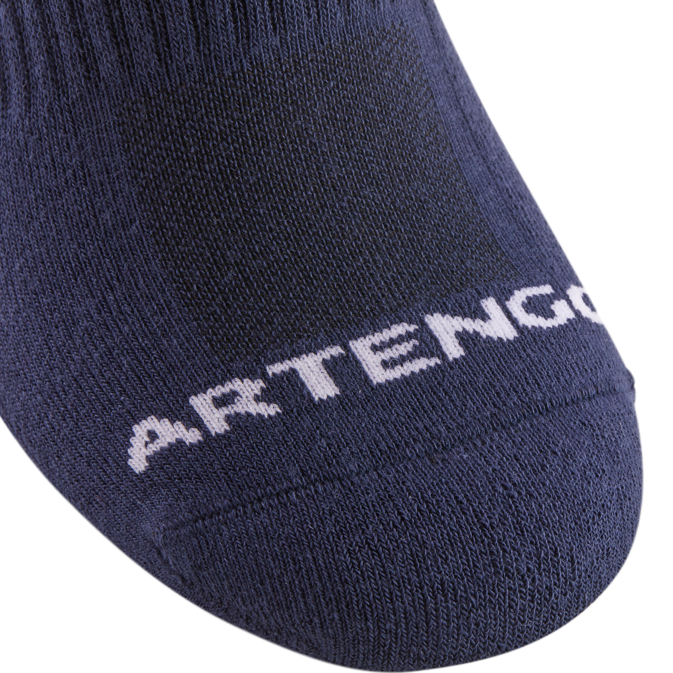 RS 500 Adult Mid Sport Socks 3-Pack - Navy/Coral