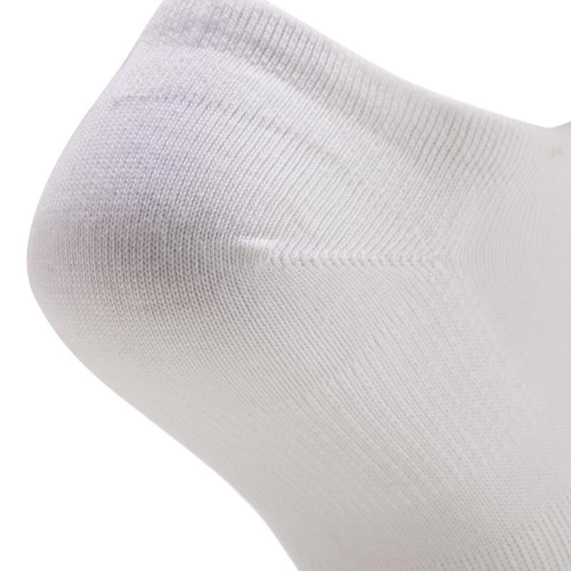 RS160 Low Sports Socks Tri-Pack - White