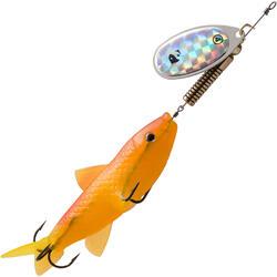 Spinner mit Elritze Weta Fish #4 fluoreszierend
