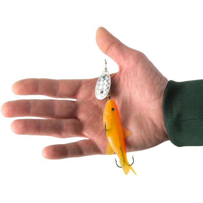 CUILLER TOURNANTE VAIRONNÉE WETA FISH #4 FLUO - 1311915