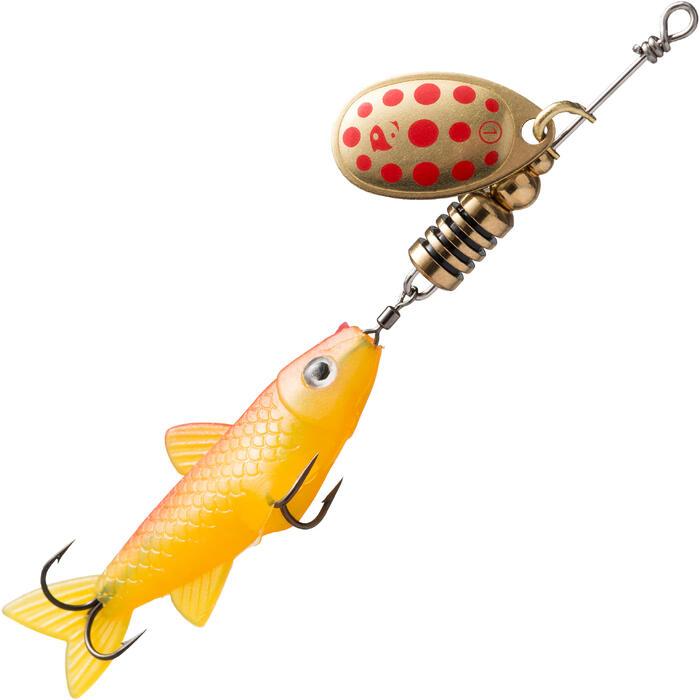 CUILLER TOURNANTE VAIRONNÉE PÊCHE DES CARNASSIERS WETA FISH #1 NATUREL - 1311934