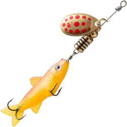CUILLER TOURNANTE VAIRONNÉE WETA FISH #1 FLUO