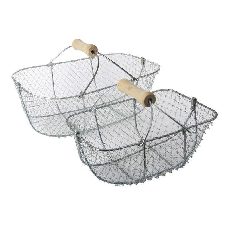 NABIRANJE ŠKOLJK Ribolov - Košara za školjke (14 l) TORTUE - Morski ribolov