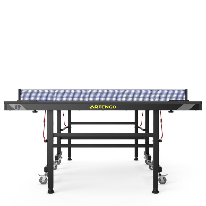 Table Tennis Indoor Table FT950 Club FFTT Approved - Blue