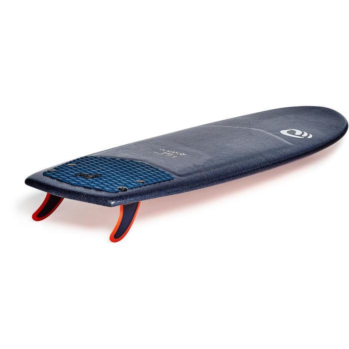 """Planche de surf en mousse 5'4"""" 900 . Livrée avec 2 ailerons."""