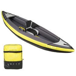 Kayak Canoa Hinchable de travesía Itiwit 1 Plaza Amarillo
