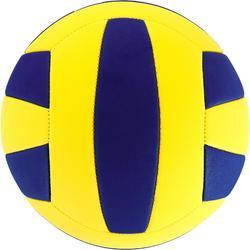 Balón de voleibol Wizzy 200-220 g amarillo y azul para 6-9 años