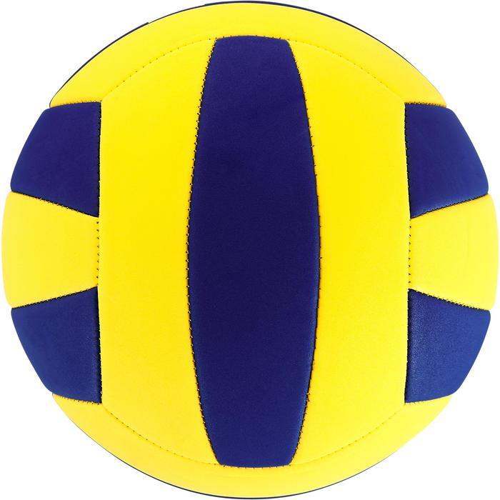 Ballon de volley-ball Wizzy 260-280g blanc et bleu à partir de 15 ans - 1312361