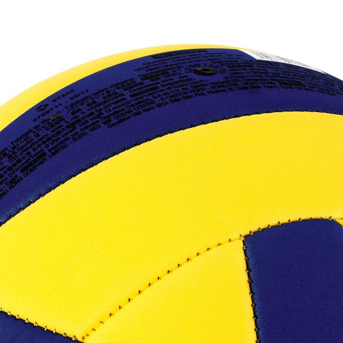 Ballon de volley-ball Wizzy 260-280g blanc et bleu à partir de 15 ans - 1312363