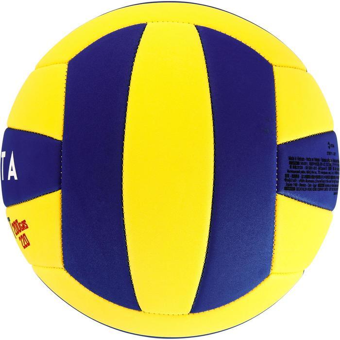 Ballon de volley-ball Wizzy 260-280g blanc et bleu à partir de 15 ans - 1312367