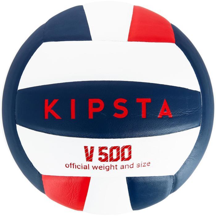 Ballon de volley-ball V300 blanc et bleu - 1312368