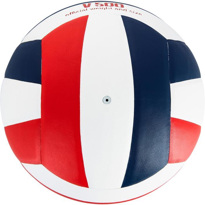 Ballon de volley-ball V300 blanc et bleu - 1312369