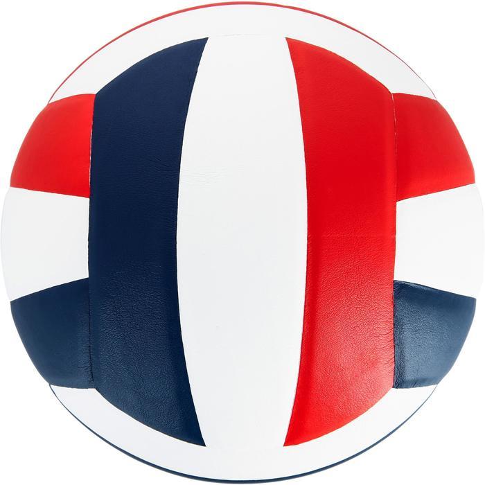 Ballon de volley-ball V300 blanc et bleu - 1312370