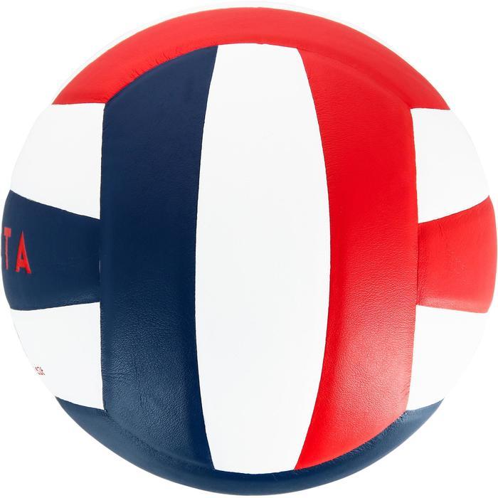 Ballon de volley-ball V300 blanc et bleu - 1312371