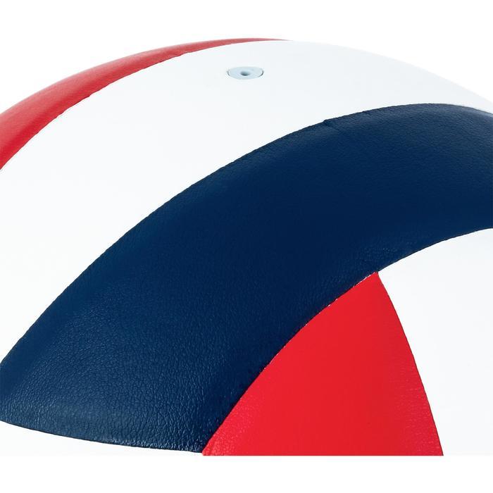 Ballon de volley-ball V300 blanc et bleu - 1312372