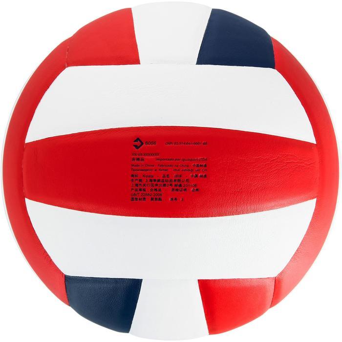 Ballon de volley-ball V300 blanc et bleu - 1312373