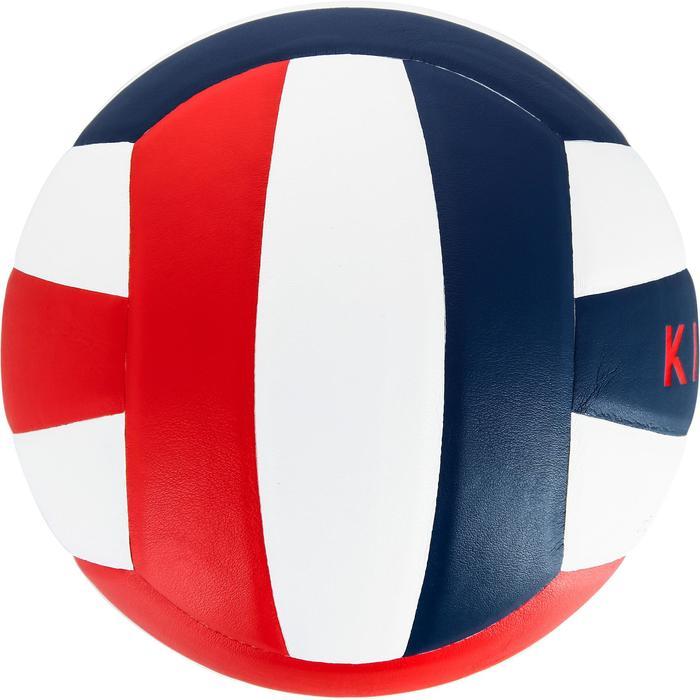 Ballon de volley-ball V300 blanc et bleu - 1312374