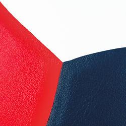 Balón de voleibol V500 blanco, azul y rojo